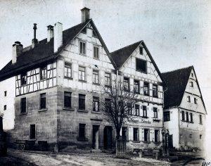 Brauereigebäude an der Knittlinger Straße