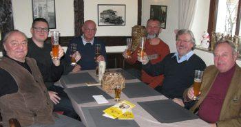 Bierprobe mit dem Etterdorfbräu