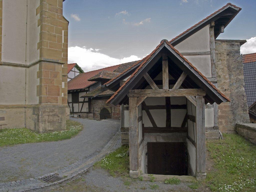Kirchenburg Lienzingen: Drehbeginn für den Kinofilm